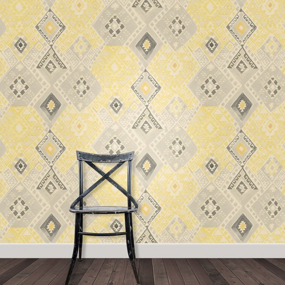Tapestry in Indian Yellow