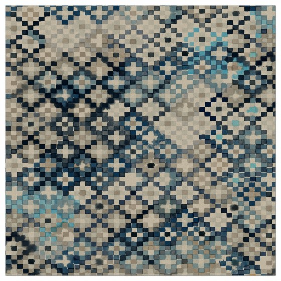Tapestry in Prussian Blue