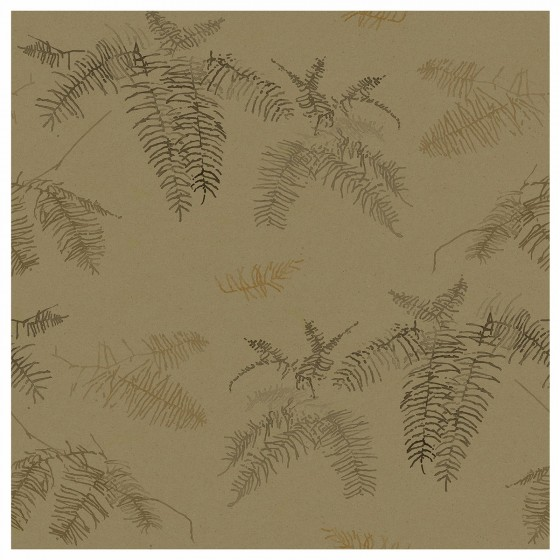 CORAL FERN in Dark Tan