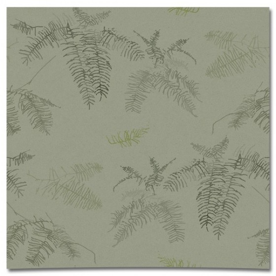 CORAL FERN in Tea Green