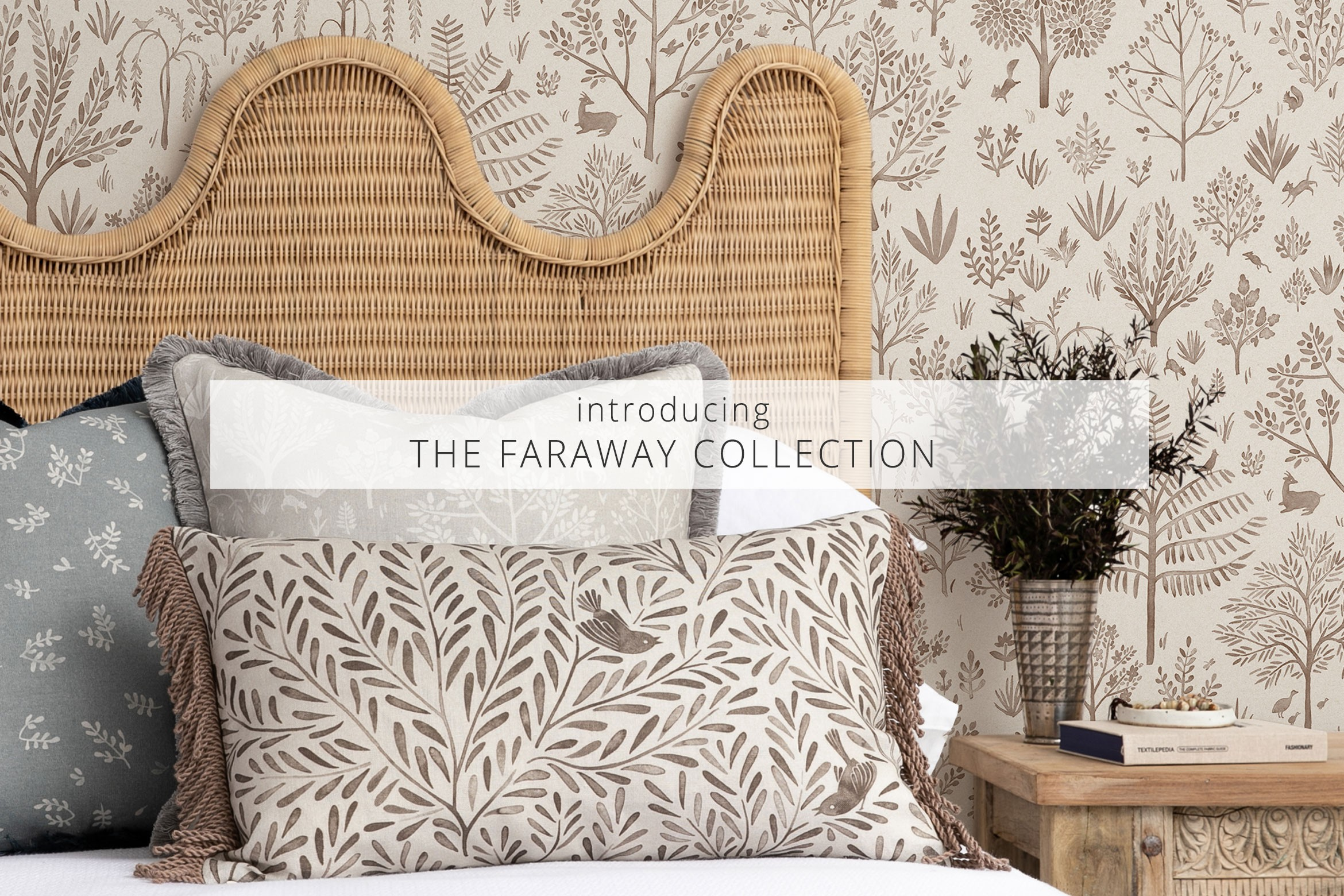 Introducing The Faraway Collection - Fabric & Wallpaper by Quercus & Co.