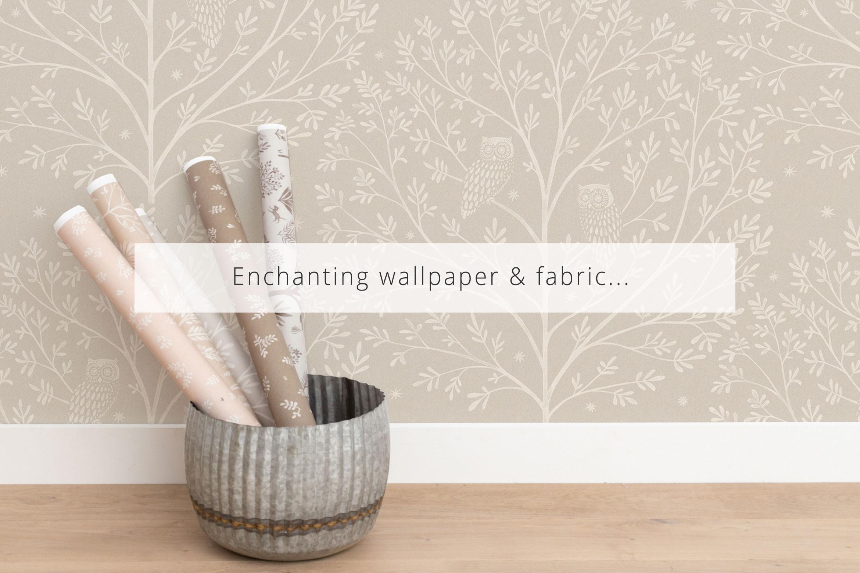 Dreamy Wallpaper & Fabric...